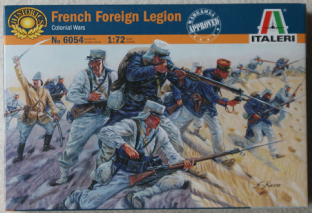 Italeri 1/72 IT6054 French Foreign Legion (Colonial Wars)